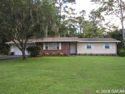 Gainesville FL Single Family Home For Sale: $168,900