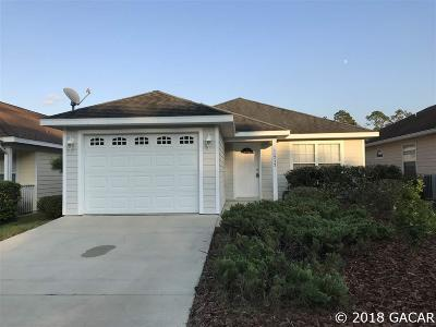 Alachua Single Family Home For Sale: 11737 NW 61st Terrace