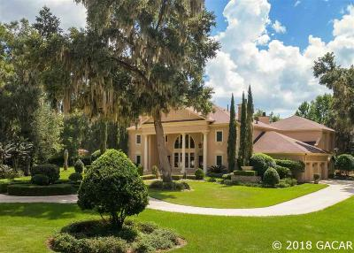 Gainesville FL Single Family Home For Sale: $1,395,000