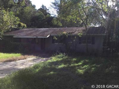 Gainesville FL Single Family Home For Sale: $143,000