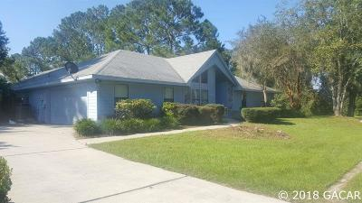 Alachua Single Family Home For Sale: 6139 NW 112th Place
