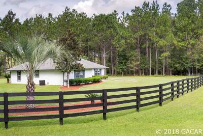 Alachua Single Family Home For Sale: 12748 NW 148th Terrace