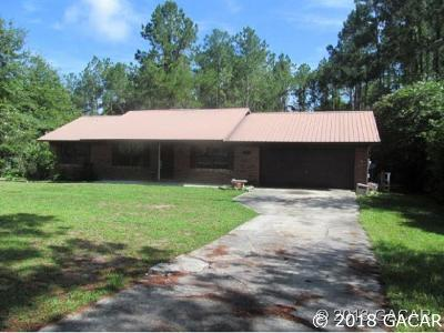 Alachua Single Family Home For Sale: 16008 NW 118th Place