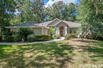 Gainesville Single Family Home For Sale: 2114 SW 102ND Terrace