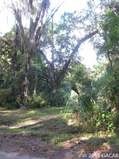 Micanopy Residential Lots & Land For Sale: NW okeehumpke ( NW 5th St) Street