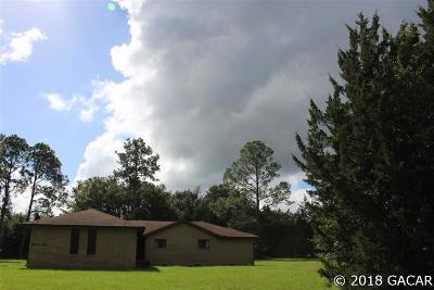 Alachua Single Family Home For Sale: 14405 NW 153RD Terrace