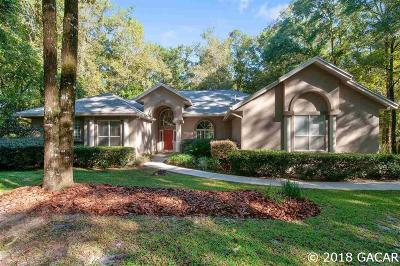 Gainesville Single Family Home For Sale: 9922 SW 22 Lane