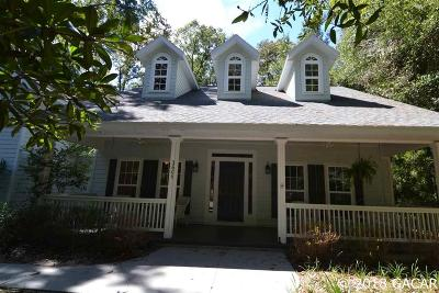 Gainesville Single Family Home For Sale: 3606 SW 21ST DR