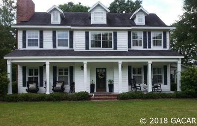 Alachua Single Family Home For Sale: 9610 NW 236th Terrace