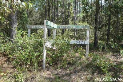 Melrose Residential Lots & Land For Sale: Old Bellamy Trail