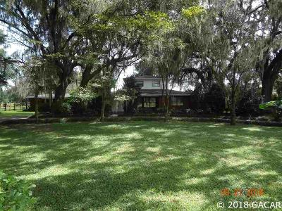 Alachua Single Family Home For Sale: 6721 & 6803 W State Road 325
