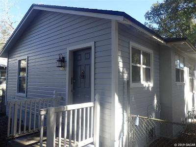 Gainesville FL Single Family Home For Sale: $134,500