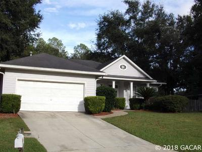 Alachua Single Family Home For Sale: 10505 NW 60th Terrace
