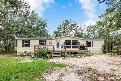 Williston FL Single Family Home For Sale: $132,000