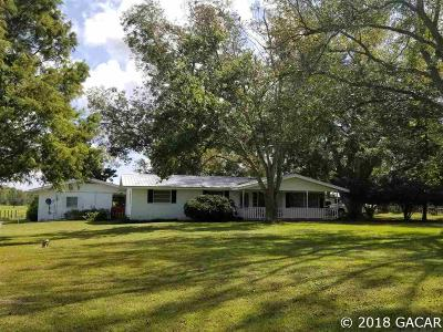 High Springs Single Family Home For Sale: 6423 NW State Road 45