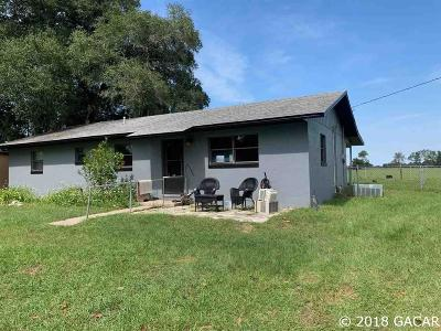 Newberry Single Family Home For Sale: 27106 SW 127TH Avenue