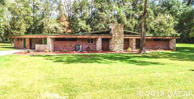 Gainesville Single Family Home For Sale: 3725 NW 36th Street