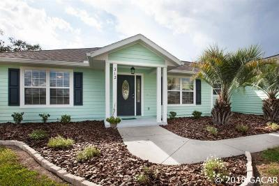 Newberry Single Family Home For Sale: 312 NW 232nd Terrace