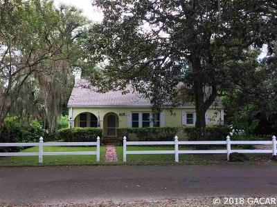 Gainesville Single Family Home For Sale: 409 NW 24th Street