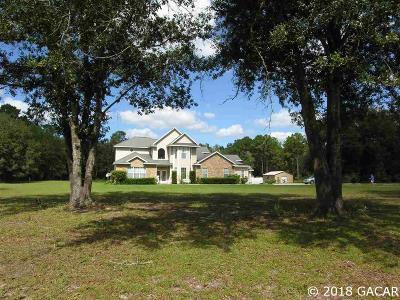 Gainesville Single Family Home For Sale: 3626 NE 156 Avenue
