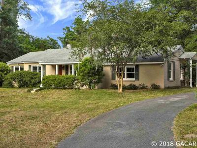 Gainesville Single Family Home For Sale: 614 SW 27th Court
