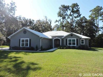Williston FL Single Family Home For Sale: $277,000