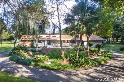 Alachua Single Family Home For Sale: 9525 NW 143rd Street