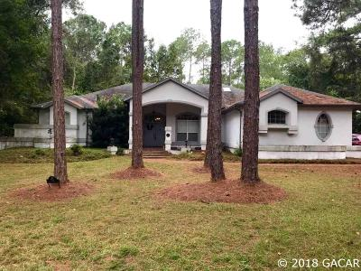 Gainesville Single Family Home For Sale: 7101 NW 18TH Avenue
