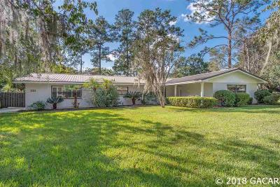 Gainesville Single Family Home For Sale: 630 NW 55TH Street