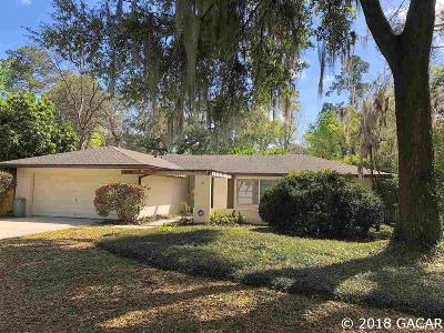 Gainesville Single Family Home For Sale: 4055 NW 34th Place
