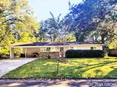 Gainesville FL Single Family Home For Sale: $155,000