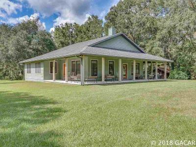 High Springs Single Family Home For Sale: 25310 NW 227th Drive