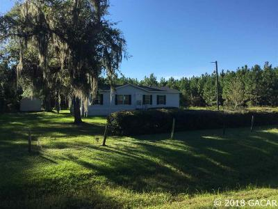 Gainesville Single Family Home For Sale: 16212 & 16224 N SR 121