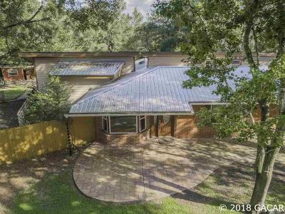 Newberry Single Family Home For Sale: 2601 SW 186th Street