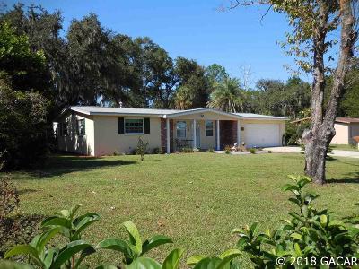 Williston Single Family Home Pending: 1370 NE 157TH Avenue