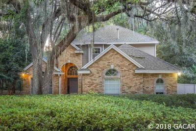 Gainesville Single Family Home For Sale: 3956 SW 98TH Drive