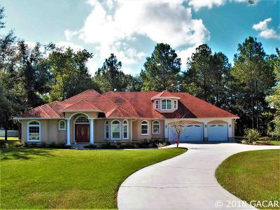 High Springs Single Family Home For Sale: 20775 NW 159th Lane