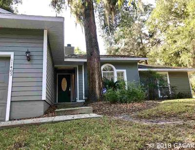 Gainesville FL Single Family Home For Sale: $229,900