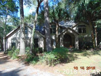 Gainesville Single Family Home For Sale: 8730 SW 45 Boulevard