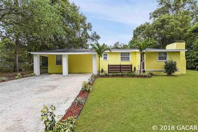 Gainesville FL Single Family Home For Sale: $124,707