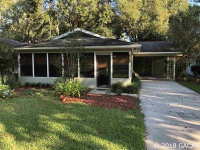 Gainesville Single Family Home For Sale: 3898 NW 86th Boulevard
