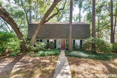 Gainesville Single Family Home For Sale: 2717 NW 22nd Avenue