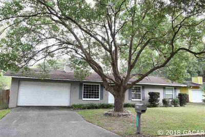 Gainesville FL Single Family Home For Sale: $182,500