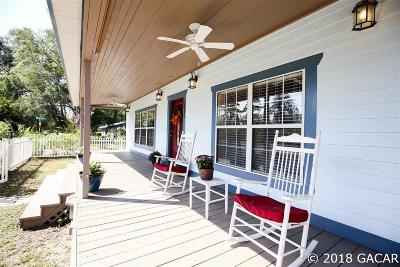 High Springs Single Family Home For Sale: 18376 NW 237 Street