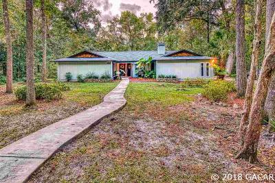 Gainesville FL Single Family Home For Sale: $315,000