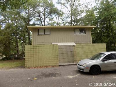 Gainesville Multi Family Home For Sale: 713 SW 69 Street #A &