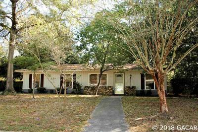 Gainesville FL Single Family Home For Sale: $154,900