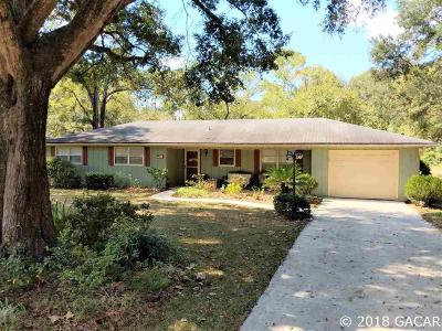 Gainesville FL Single Family Home For Sale: $196,500