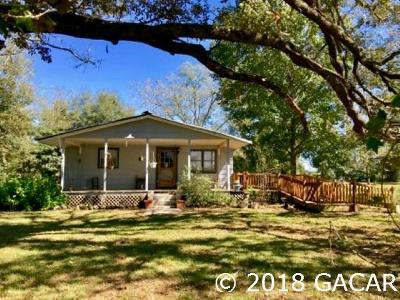 High Springs Single Family Home For Sale: 28921 NW 142nd Ave