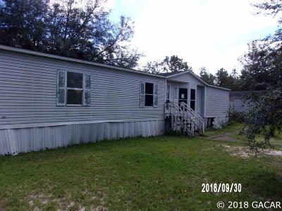 Bronson Single Family Home For Sale: 11071 NE 78 Terrace